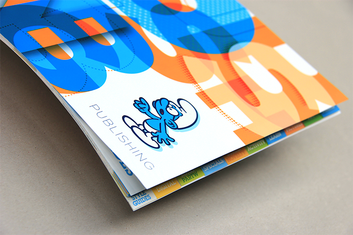 Impression brochure avec onglets